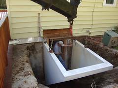 Installing bulkhead
