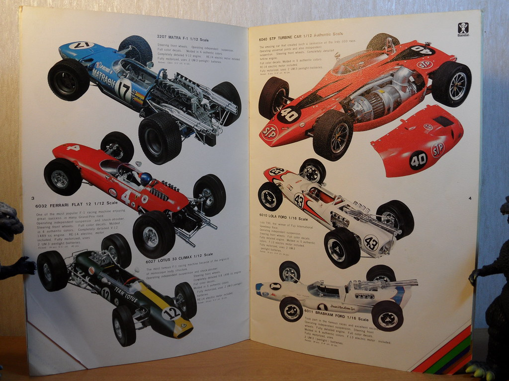 Bandai 1971 Catalogue page 3 and 4