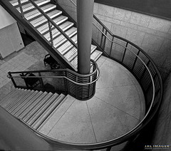 I'll Meet You Half Way (JALimager) Tags: stairs illinois steps staircase railing escaleras rockford jalimager