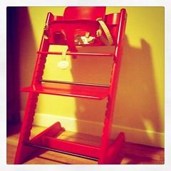 43/365 - My Son's Highchair