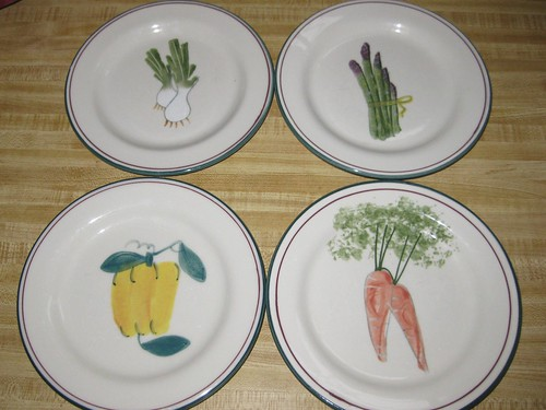 Hartstone Farmer's Market salad plates