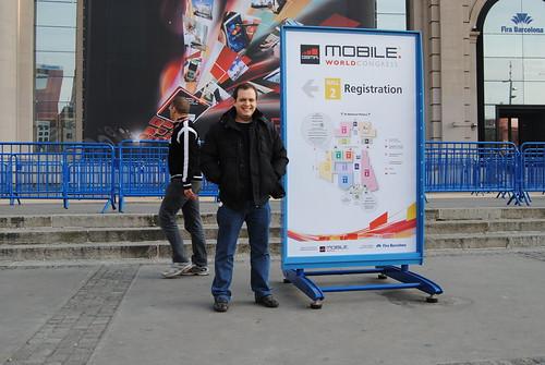 Gustavo al MWC 2011 (2)