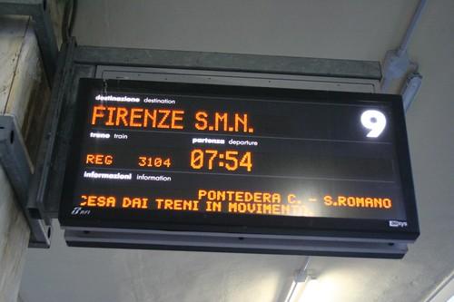 Florença estação de comboios