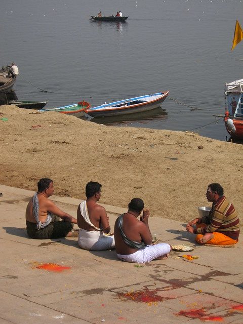 Lesson by the Ganges