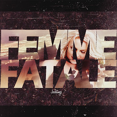 Femme Fatale - Britney Spears [Black Roses] (Joshie.yeye) Tags: new red roses woman black me against rose march gun dress shot you spears album femme it killer femmefatale would britney fatale hold britneyspears 2011 holditagainstme