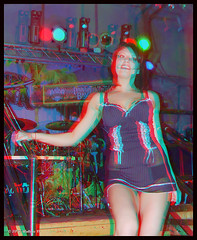 Cancun Cantina - Lingerie (starg82343) Tags: girls portrait sexy female bar club stereoscopic 3d nice md women pretty slim display gorgeous brian fine maryland anaglyph lingerie indoors stereo linda babes attractive wallace inside lovely trim hanover gals servers built stereoscopy stereographic stereovision brianwallace stereoimage harmons cancuncantina stereopicture
