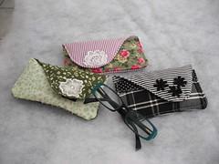 Porta-Óculos !!! (cuoreditrappo) Tags: flores pano porta óculos tecido retalho