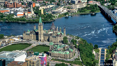 Ottawa, Ontario, Canada: Aerial view of Parliament Hill (nabobswims) Tags: ca canada hdr highdynamicrange lightroom nabob nabobswims ontario ottawa parliamenthill photomatix sel18105g sonya6000