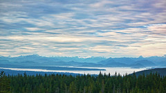 under a painted sky (xtremepeaks) Tags: under painted sky clouds sunset ocean coast islands bc canada challengeyouwinner