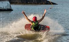 Omnia Cable Ski-0053 (~.Rick.~) Tags: cableski carbrook friends kneeboard omniagroup qld queensland seq team excitement fun ski water australia au