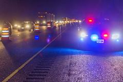 Lights on for safety (OregonDOT) Tags: oregondot oregonstatepolice kniferivercorporation workzone workzonesafety construction oregon odot safety patrol enforcement police woodburn interstate5 i5