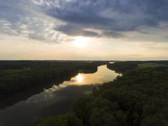 Glassy (Matt Champlin) Tags: random tonight summer beautiful sunset fishing fish reef cross lake rural 2017 drone dji aerial