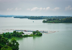 Kaptai Lake (pritam.nandy) Tags: photography photo photographer picture pic nature nikon natural nice new awesome album still sky shot water landscape lake planet place eco light look lightroom view vacation traveller travel trees tree cloud chittagong beautiful bangladesh bengal beauty bengali