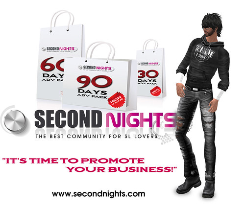 Secondnights Advertising Pack Special by Simone Peterman | Secondnights.com