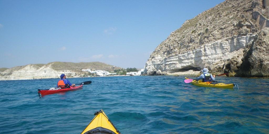 Cabo de Gata en kayak 125