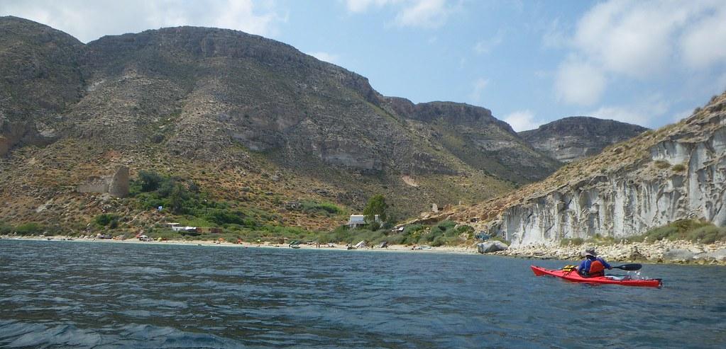 Cabo de Gata en kayak 185