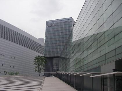 クラリオン「開発のこだわり」ブロガーミーティングの会場となったクラリオン本社