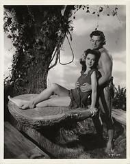7000-2082 (AliceJapan ʕ •ᴥ•ʔ) Tags: johnny maureen mgm 1941 osullivan weissmuller johnnyweissmuller maureenosullivan tarzanssecrettreasure