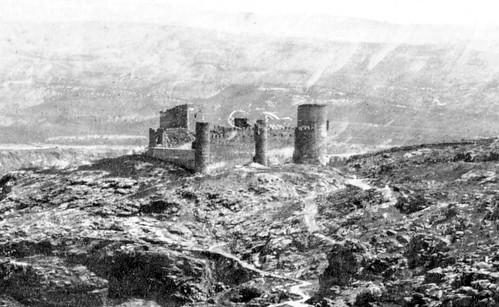 El castillo en 1857, fotografiado por Charles Clifford (Fuente: Toledo Olvidado)