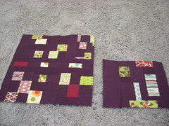 Confetti blocks for SewBeeIt