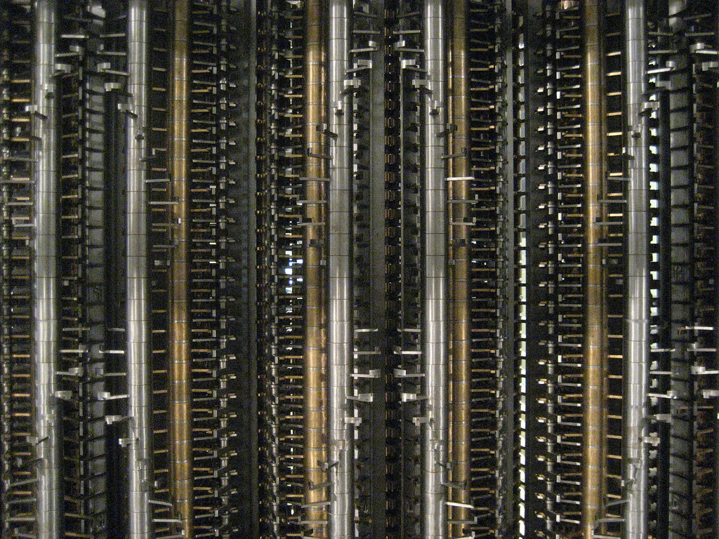 Babbage's Difference Engine #2