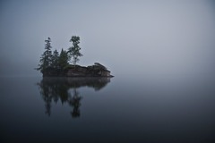 gay island (uwajedi) Tags: summer lake ontario canada fog night island country cottage fullmoon serene chandos apsley fogography crownland twtmeiconoftheday g20getaway