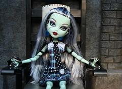 frankie087 (Lisa/Alex's doll) Tags: monster high dolls frankie frankenstein stein mattel watzit