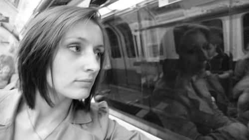 Nat on the London Underground