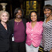 Carol S. Fixman, Executive Director, Philadelphia Education Fund, Nancy Hopkins-Evans, Dee Phillips, and Diana Campbell