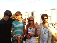 Me and Foals. (nash.sophie) Tags: backstage johnpeel foals yannis sophienash glastonbury2010festivalpiltonsomerset