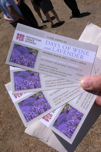 Matanzas Creek Winery Days of Wine and Lavender