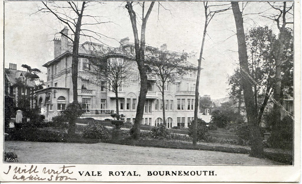 Vale Royal Hotel (Park Central), Exeter Road, Bournemouth