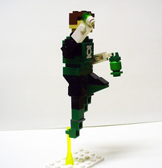 Mini Greenlantern 2 (Model Gal) Tags: lego superman superhero batman greenlantern justiceleague brickworld
