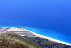 (Amrico Meira) Tags: blue sea costa mer praia azul mar y bleu albnia nanaturezainnatura