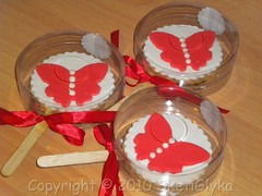 Red fly sticks (Niki SG) Tags: art cookies sugar sugarpaste glyka    sketi