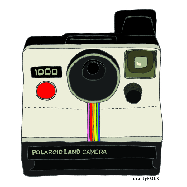Polaroid Illustration