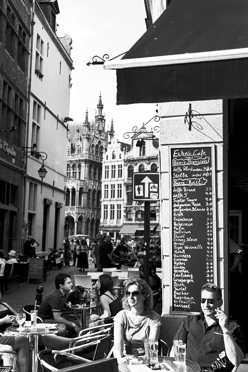 Verso Grand Place, Bruxelles