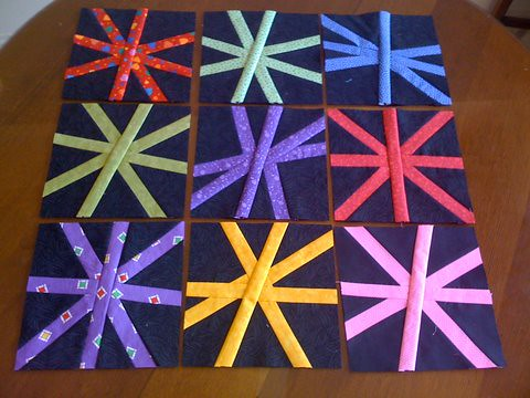 June's 9 Asterisk blocks