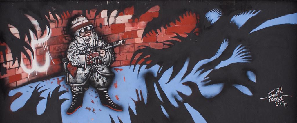 Patriotyczny mural - Hardkor 44