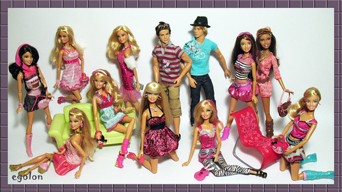 Barbie Fashionista Wave I and Wave II