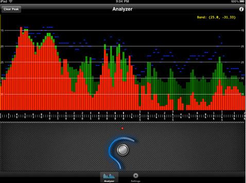 Xa1p iPad app