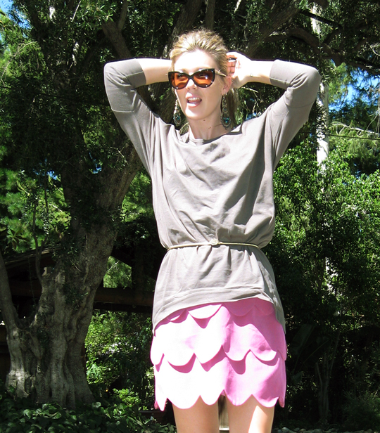 AKA NY scallop dress+Juma+Calvin Klein shoes-5