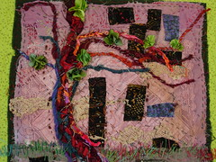'willow' (Lorie McCown) Tags: poem sewing stitching artquilt soulart
