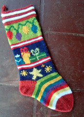Mix-It-Up Christmas Stocking