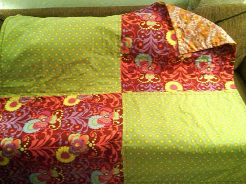 Finished picnic blanket