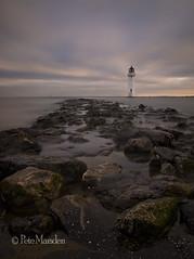 Dawn at Perch Rock (Pete Marsden) Tags: uk longexposure lighthouse seascape mersey wirral newbrighton ndfilter nd110 perchrock