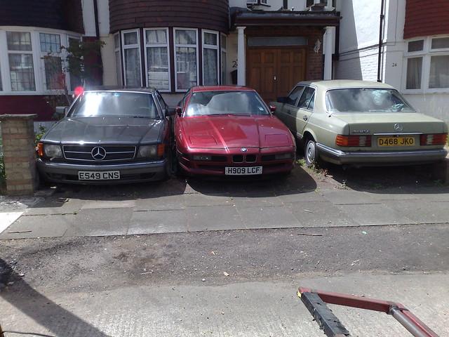 mercedes se 1988 420 bmw 1991 1986 sel 850 sclass 500sec uksenator