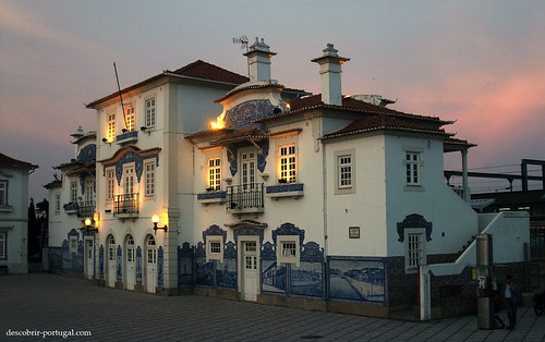 Railway station of Aveiro