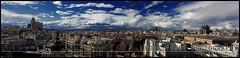 De Madrid al cielo (Lydia Tausi Photography) Tags: madrid blue summer sky españa primavera azul clouds canon contraluz spring spain cielo panoramica nubes verano silueta telefonica cba colon comunidaddemadrid circulodebellasartes metropoli ladyliseth lydiatausi