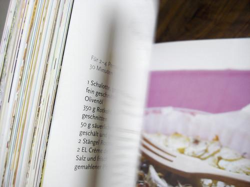 Buchseiten aus >Meine Sonnenküche<